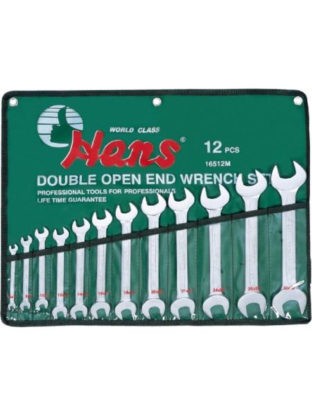 Набор ключей рожковых 6-32 мм, 10 предметов 16510M