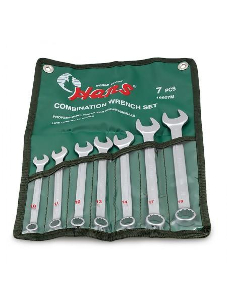 Набор ключей комбинированных 10-19 мм, 7 предметов 16607M