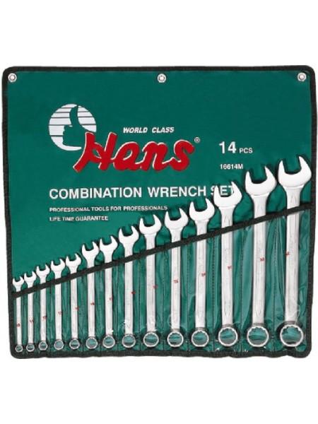 Набор ключей комбинированных 10-32 мм, 14 предметов 16614M