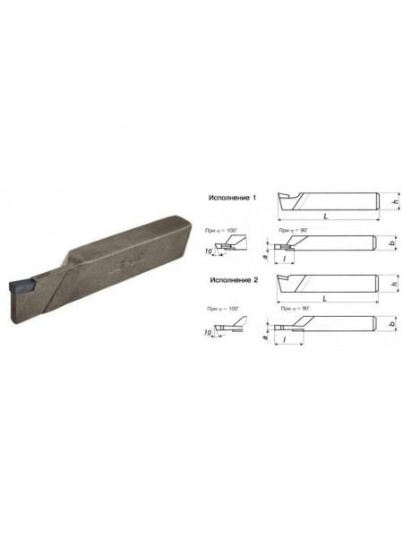 Резец токарный отрезной 16х10х100 ВК8 исп. 2 2130-0001-ВК8 от  на сайте СТИЛМОТОРС