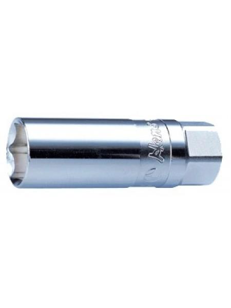 """Тонкостенная свечная головка магнитная 3/8"""" 16мм 3335MK16"""