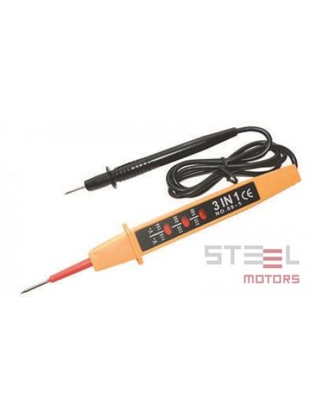 Индикатор напряжения двухполюсный 110-220-380В 750мм 4008611