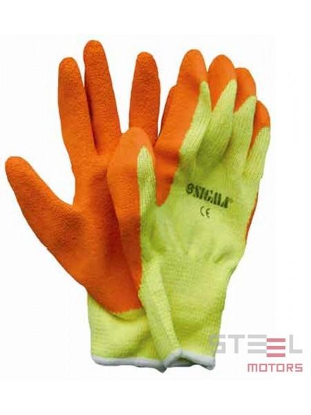Перчатки трикотажные 10G латекс (эконом) 9224021