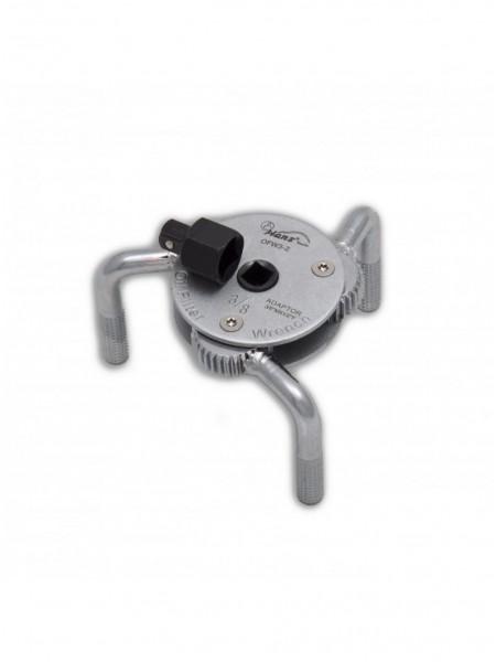 Съемник масляного фильтра трехлапый, 65-120 мм OFW3-2
