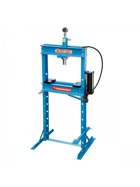Гидравлический пресс 12 тонн с ножным приводом SD0803B