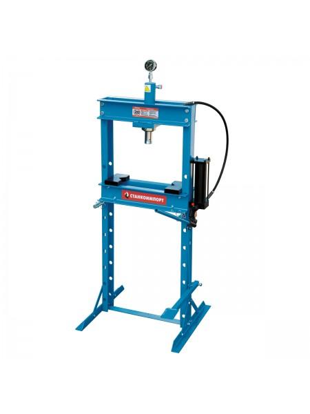 Гидравлический пресс 20 тонн с ножным приводом SD0805C