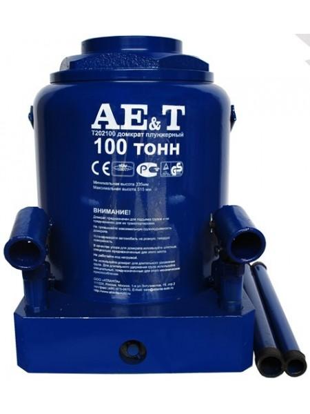 Домкрат гидравлический бутылочный 100 тонн T202100