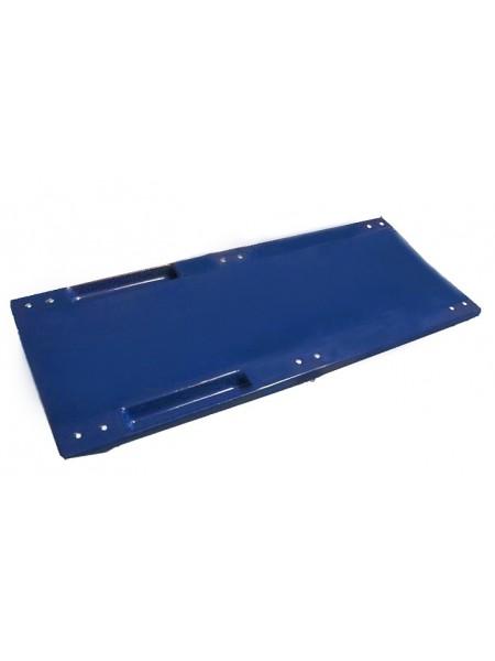 Ударопрочный лежак подкатной (стеклопластик) Pol