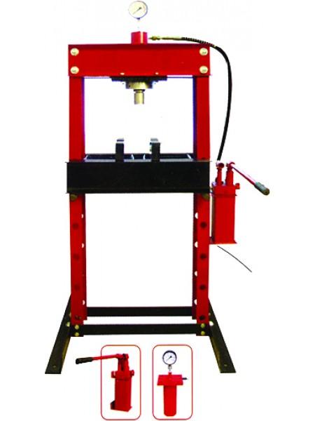 Пресс напольный гидравлический, ручной 30 т ZX0901D