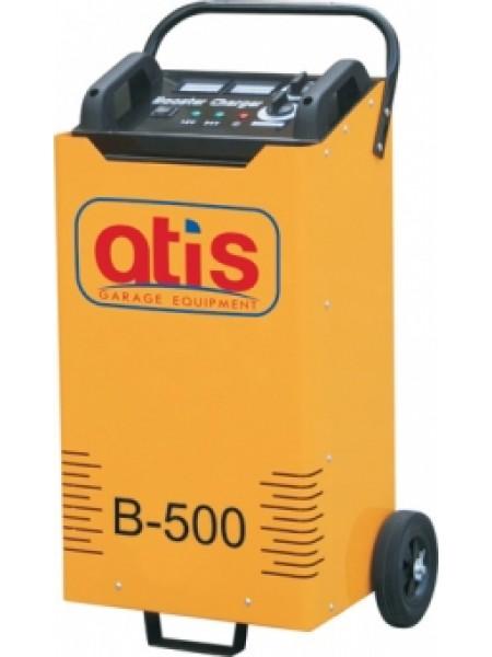 Автоматическое пуско-зарядное устройство, максимальный стартовый ток 500 А  B-500