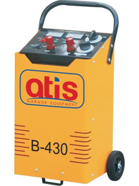 Автоматическое пуско-зарядное устройство, максимальный стартовый ток 430 А B-430