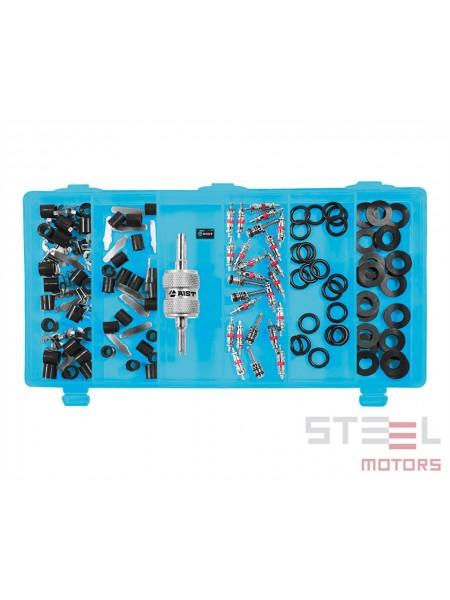 Набор ремкомплектов для системы кондиционирования (с инструментом для монтажа/демонтажа) 126 пр. 19199036