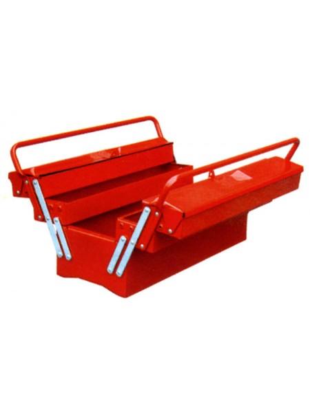 Ящик для инструмента 5-ти секционный раздвижной 495х200х290 мм 90d10105gm
