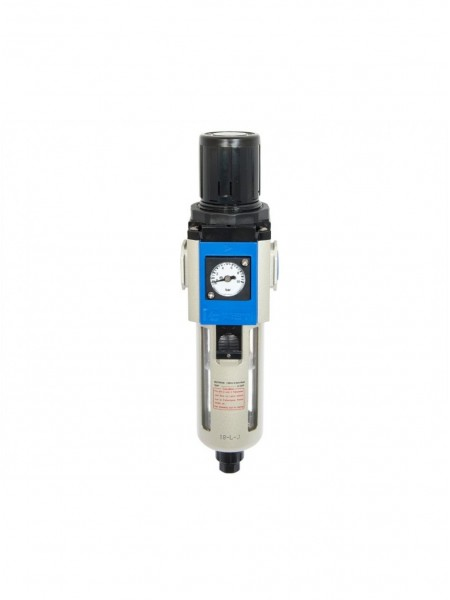 """Фильтр-влаготделитель 3/8"""" 40 м, 4500 л/мин, с регулятором давления 91031353"""