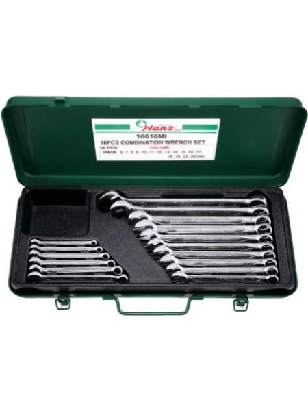 Набор ключей комбинированных 6-24 мм, 16 предметов 16616МI