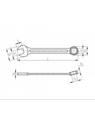 Ключ комбинированный 8 мм ЭК Ц15хр КГК8 от КЗСМИ на сайте СТИЛМОТОРС